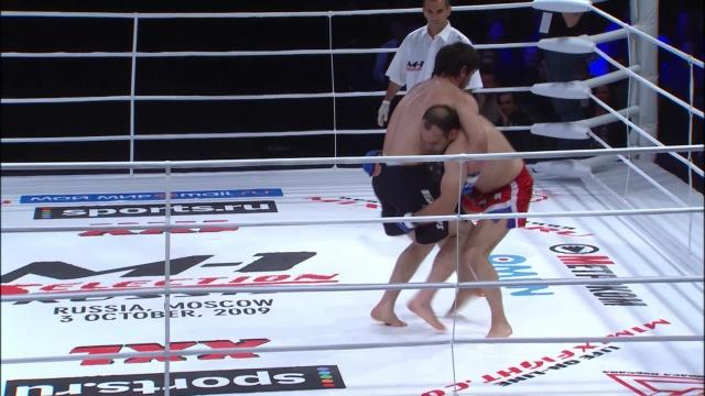 Гасан Умалатов vs Мурад Магомедов, M-1 Selection 2009 7