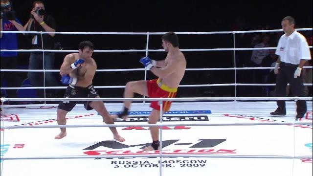 Магомедрасул Хасбулаев vs Гаджи Джангишиев, M-1 Selection 2009 7