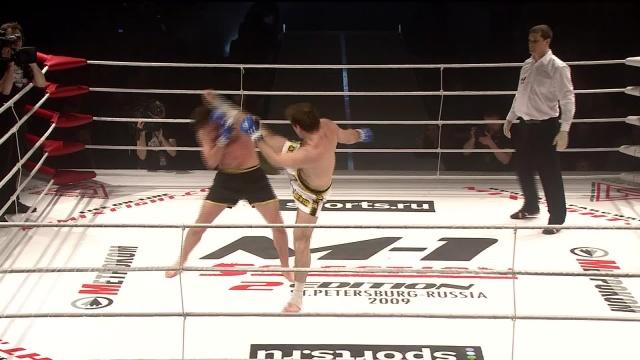 Расул Магомедов vs Александр Гордилов, M-1 Selection 2009 2