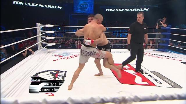 Томаш Наркун vs Шамиль Тинагаджиев, M-1 Challenge 23
