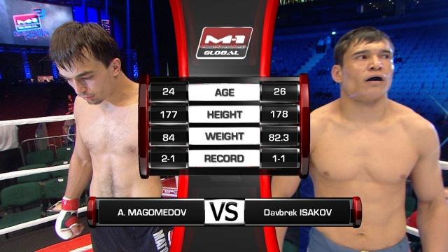 Абдулмаджид Магомедов vs Даврбек Исаков, M-1 Global - Fedor vs. Rizzo