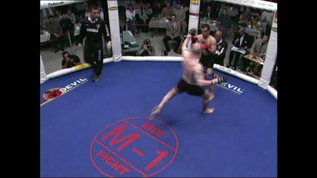 Дэвид Маклафлин vs Андраник Ашугян, M-1 MFC - Russia vs. the World 1