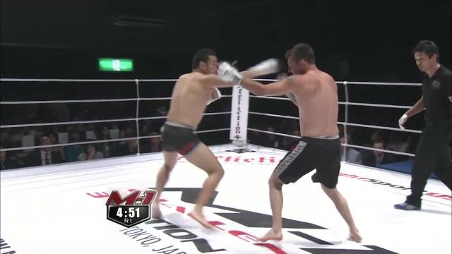 Саймон Филлипс vs Хидехико Хасегава, M-1 Challenge 14