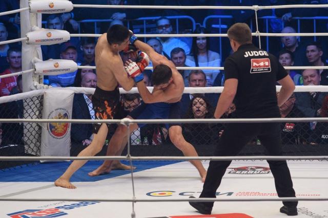 Микаэль Силандер vs Нурелес Айдаров, M-1 Challenge 93