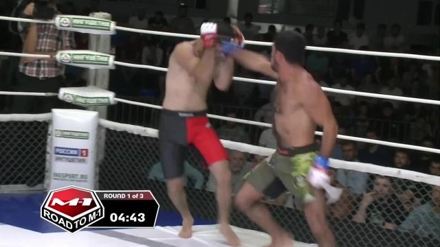 Орхан Мамедов vs Ваха Шанхоев, Road to M-1: Ingushetia 4