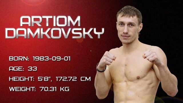 Artiom Damkovsky's promo, M-1 Challenge 74, February 18