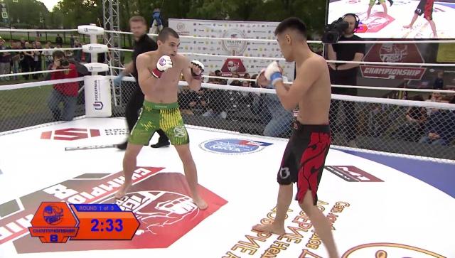 Виктор Донской vs Валентин Орлов, Fightspirit Championship 8