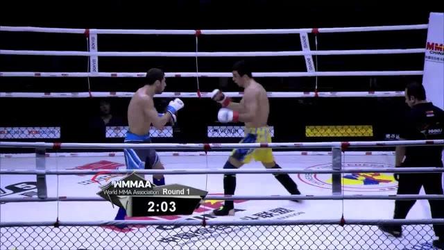 Эльнур Велиев vs Курбан Тайгибов, WMMAA Macau 2016