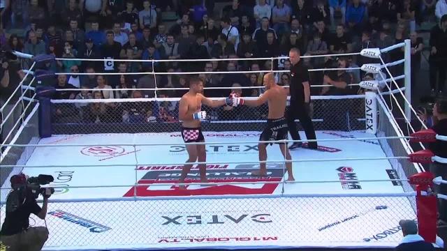 Антон Радман vs Александр Бутенко, M-1 Challenge 51