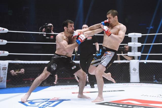 Мовсар Боков vs Леван Солодовник, M-1 Challenge 90