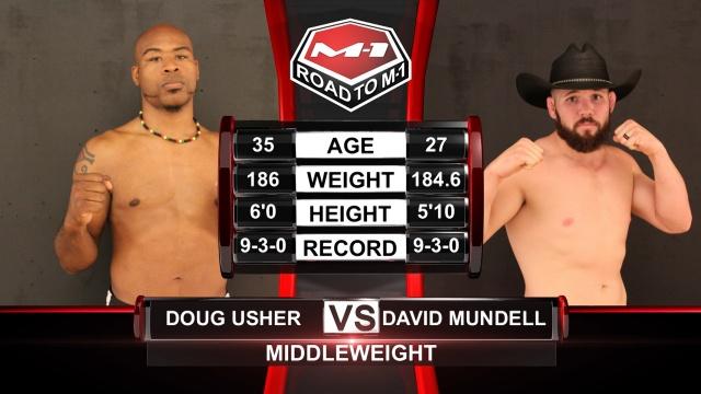 Даглас Ашер и Дэвид Манделл, Road to M-1: USA - 1