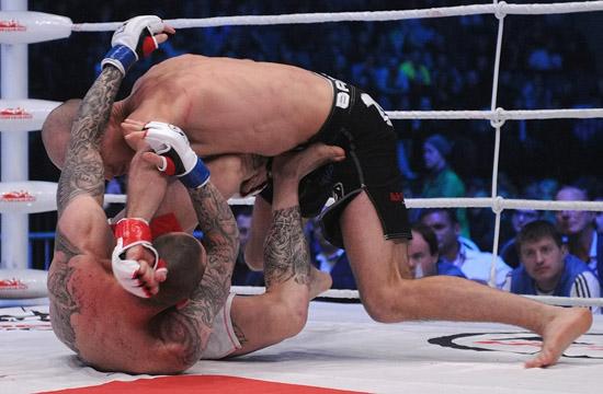 Александр Яковлев vs Кристиан Эккерлин, M-1 Challenge 25