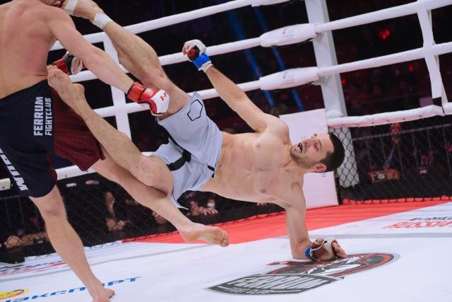 Илисхан Мержоев vs Денис Сулимов, M-1 Challenge 98