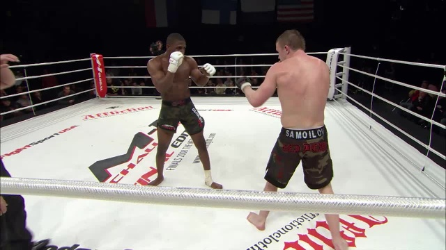 Джейсон Джонс vs Дмитрий Самойлов, M-1 Challenge 11