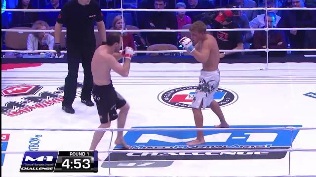 Юрий Келекшаев vs Александр Лукьянов, M-1 Challenge 37