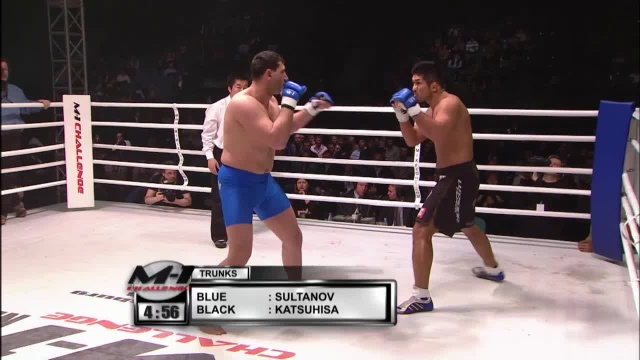 Фуджи Кацухиша vs Ахмед Султанов, M-1 Challenge 02