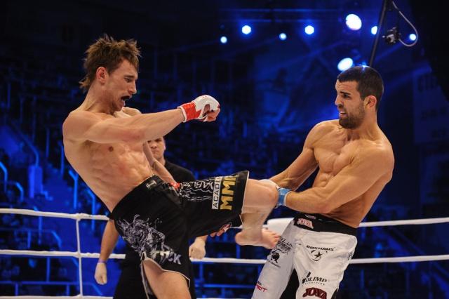 Артем Дамковский vs Дениэль Вайхель, M-1 Challenge 37