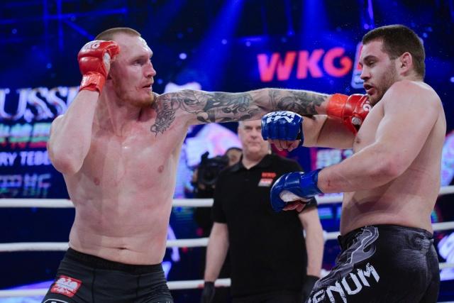 Dmitry Tebekin vs Marcin Lazarz, WKG&M-1 Challenge 100