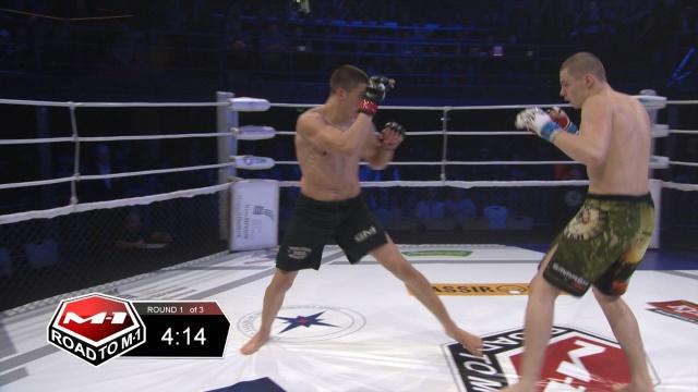 Вячеслав Бондарев vs Виталий Слипенко, Road to M-1 - Saint Petersburg 2