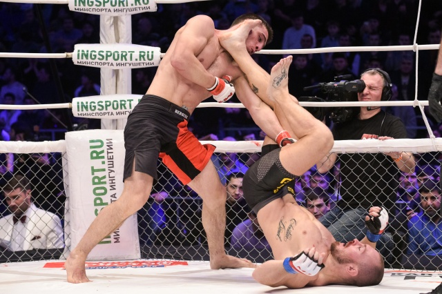 Кристиан Холли vs Хамзат Далгиев, M-1 Challenge 73