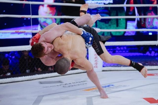 Даниэль Суэйн vs Максим Пашков, WKG&M-1 Challenge 100