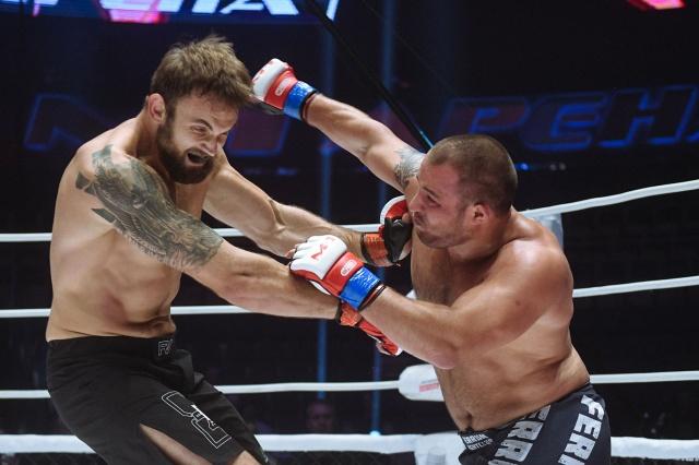 Yuriy Fedorov vs Sergey Goltsov, M-1 Challenge 96