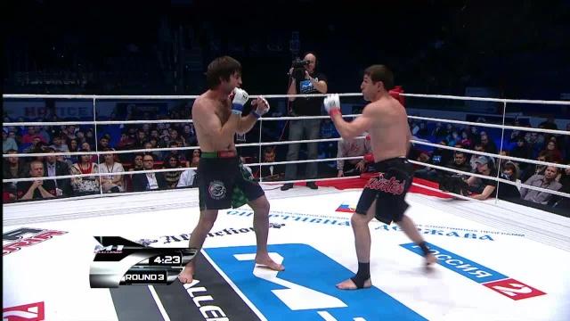 Шейх-Магомед Арапханов vs Марат Гафуров, M-1 Challenge 29