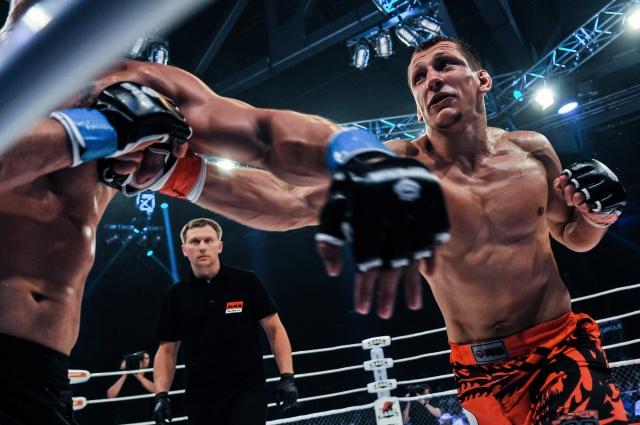 Вячеслав Василевский vs Чарльз Андраде, M-1 Challenge 39