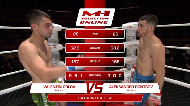 Валентин Орлов vs Александр Донцов, M-1 Selection Online 1