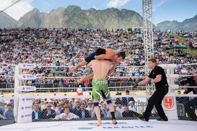 Рустем Сейдалиев vs Ингисхан Оздоев, M-1 Challenge 49
