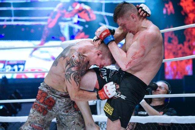 Денис Тюлюлин vs Никита Шамов, M-1 Challenge 97&Tatfight 7