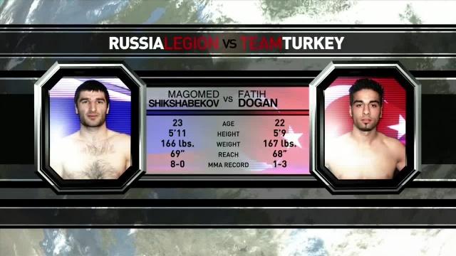 Магомед Шихшабеков vs Фатих Доган, M-1 Challenge 18