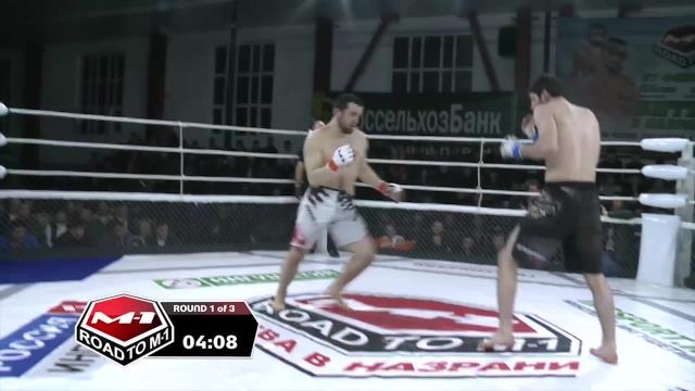 Шарпудин Магомедов vs Лом-Али Нальгиев, Road to M-1: Ingushetia 2
