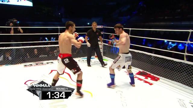 Абдулмуталип Гаирбеков vs Сергей Морозов, M-1 Challenge 48