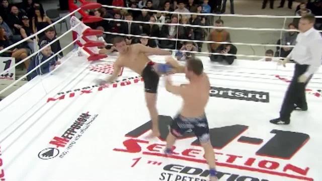 Рашид Магомедов vs Багавдин Гаджимурадов, M-1 Selection 2009 1
