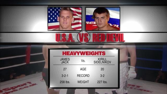 Джеймс Джек vs Кирилл Сидельников, M-1 Challenge 07
