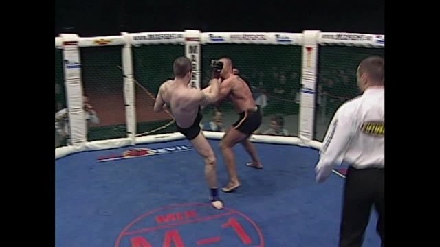 Евгений Лямин vs Джулиан Гонзалес, M-1 MFC - Russia vs. the World 3