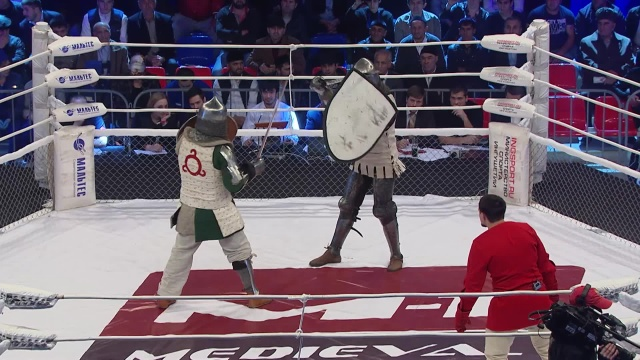 Али Махлоев vs Дмитрий Стадниченко, M-1 Challenge 52, Medieval MMA