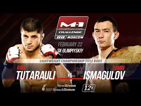 M-1 Challenge 88: Исмагулов vs Тутараули weigh-in LIVE | Взвешивание перед турниром
