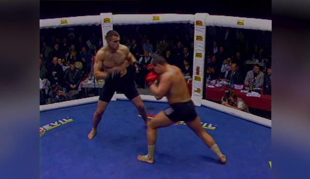Роман Зенцов vs Андрей Арловский, M-1 MFC European Championship 2000