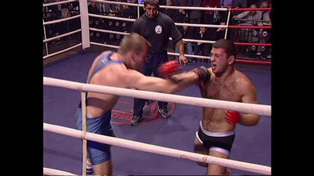 Александр Попов vs Ашот Констандян, M-1 MFC - Exclusive Fight Night 3