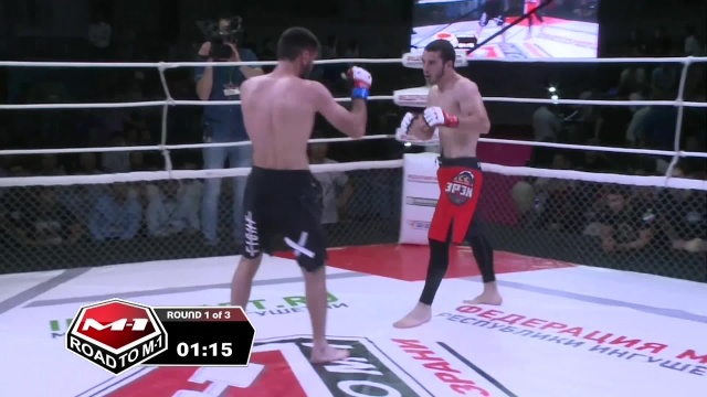 Бадрудин Магомедов vs Ахмадхан Боков, Road to M-1: Ingushetia 4