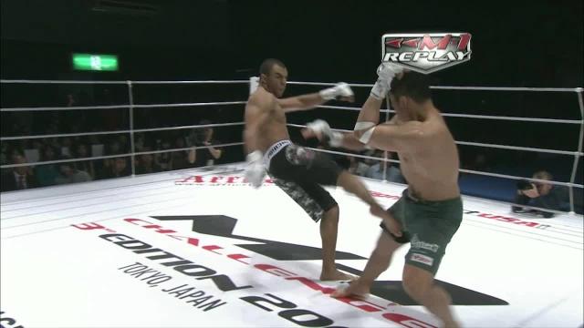 Карл Амоссоу vs Кацухиро Хаманака, M-1 Challenge 14
