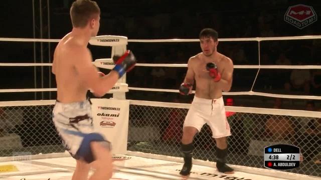 Алишер Абдулоев vs Юджин Делл, Road to M-1: Germany