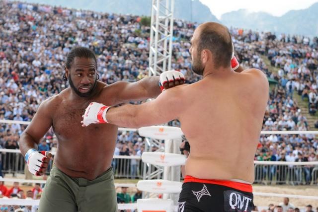 Шамиль Абдурахимов vs Кенни Гарнер, M-1 Challenge 49