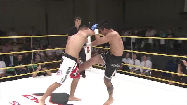 Романо Де Лос Рейес vs Кен Хамамура, M-1 Challenge 05
