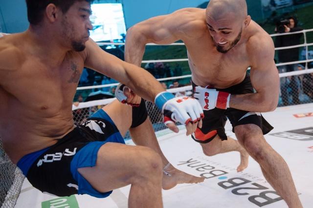 Абукар Яндиев vs Чарльз Андраде, M-1 Challenge 58