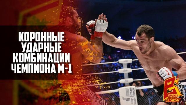 Ударные комбинации MMA чемпиона М-1 Алексея Кунченко