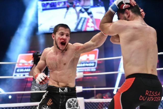Никита Чистяков vs Моктар Бенкачи, M-1 Challenge 57