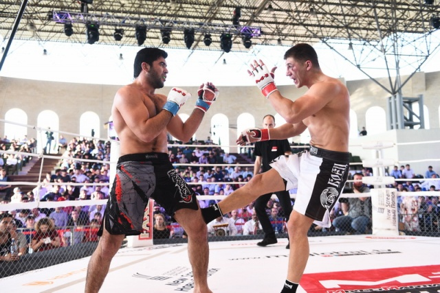 Довлетжан Ягжимурадов vs Михаил Рагозин, M-1 Challenge 61